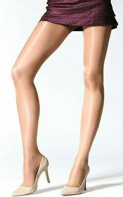 Kiiltävät sukkahousut 15den KOKO 2, natural