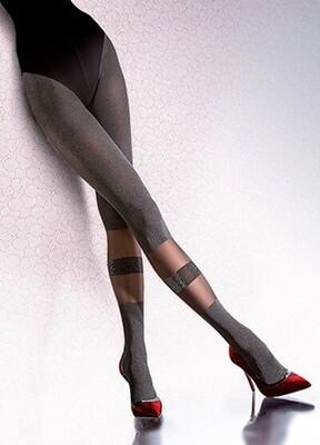 KOKO 2 kuvioidut sukkahousut 40den, melange