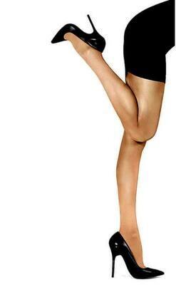 Yksiväriset sukkahousut 40den, beige