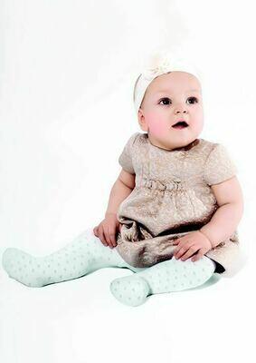 Vauvojen sukkahousut, sydänkuvioitu bianco