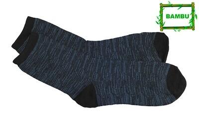 Varrelliset bambusukat KOKO 43-46, sininen/musta