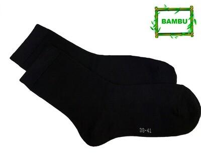 KOKO 35-38, varrelliset bambusukat, musta