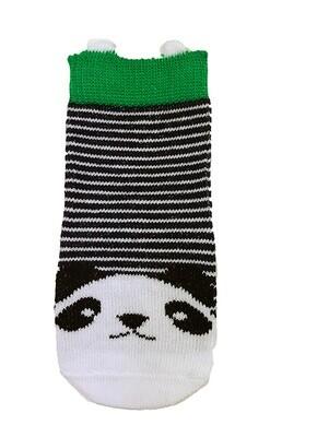 Musta-valkoiset vauvojen sukat, 0-6/6-12kk