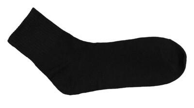 Varrelliset sukat, musta