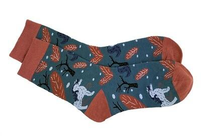 Varrelliset sukat yksisarviskuviointi
