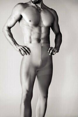 Miesten sukkahousut Active, 60 den, mustat