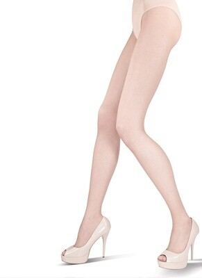 Hyvin ohuet sukkahousut 10den, natural
