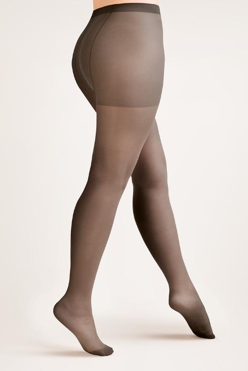 Sukkahousut 20 den, musta, Plus Size