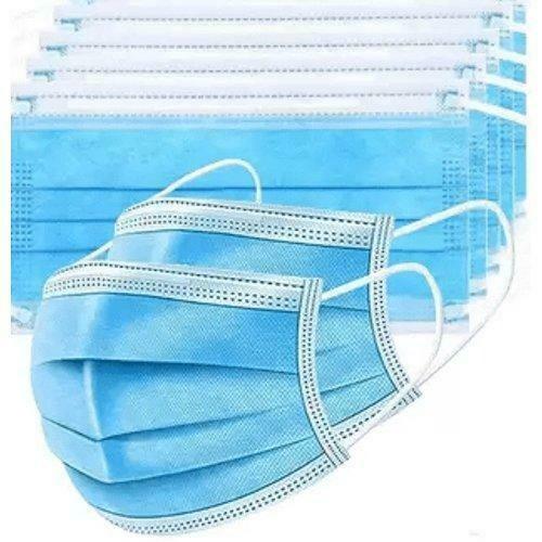 Type IIR kirurginen suu-nenäsuojain sininen, 50 kpl / laatikko