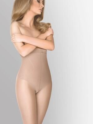 Muotoilevat sukkahousut High Shaper, 20 den, beige