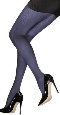 Sukkahousut Agata, raidalliset tumman siniset