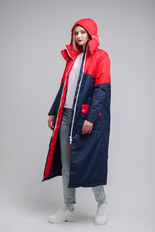 Тёплая куртка Full oversize