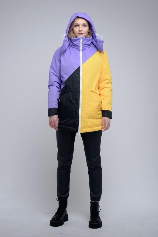 Теплая куртка Short oversize
