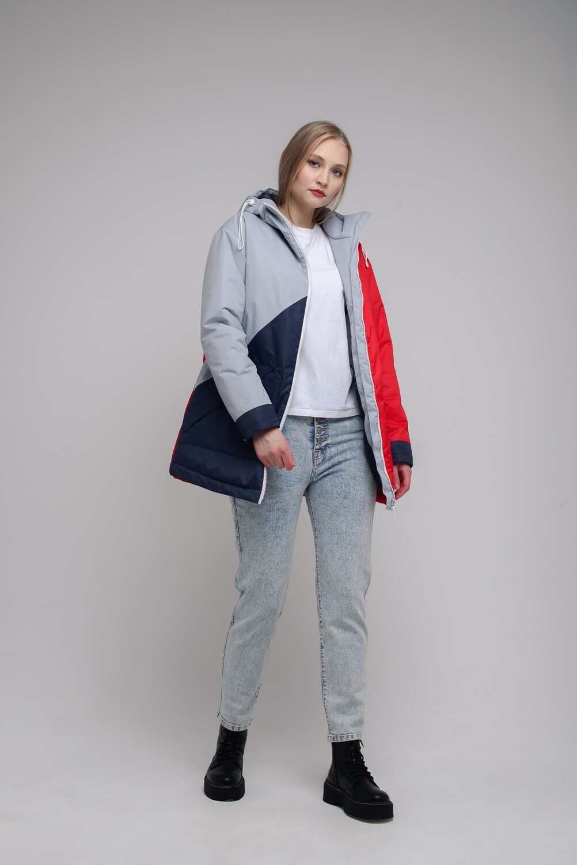 Тёплая куртка Short oversize