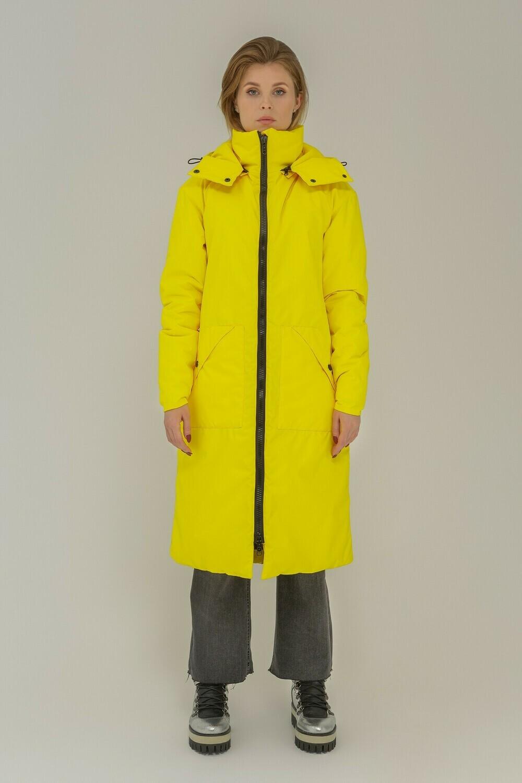 Зимняя куртка Midi oversize