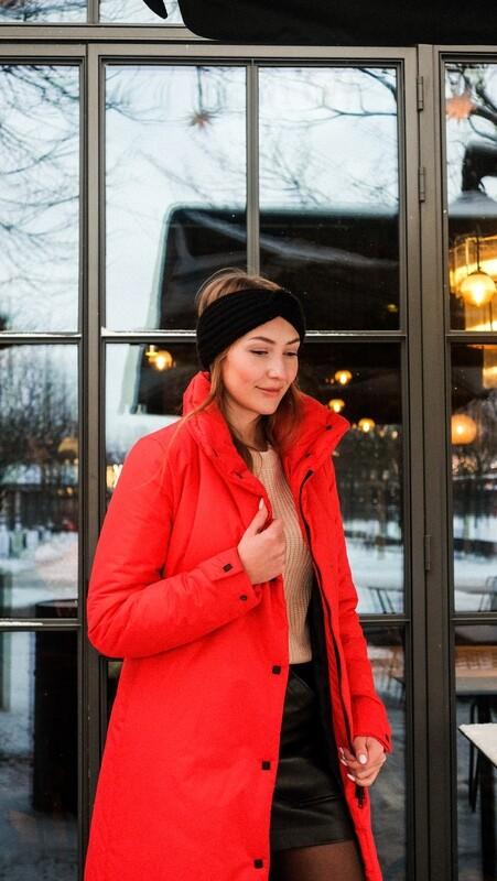 Зимнее пальто Womanly