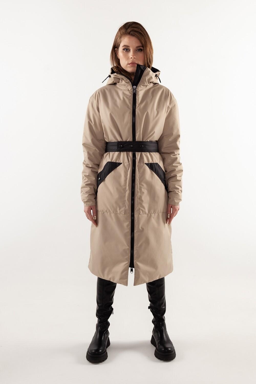 Утепленная куртка Demi-season oversize