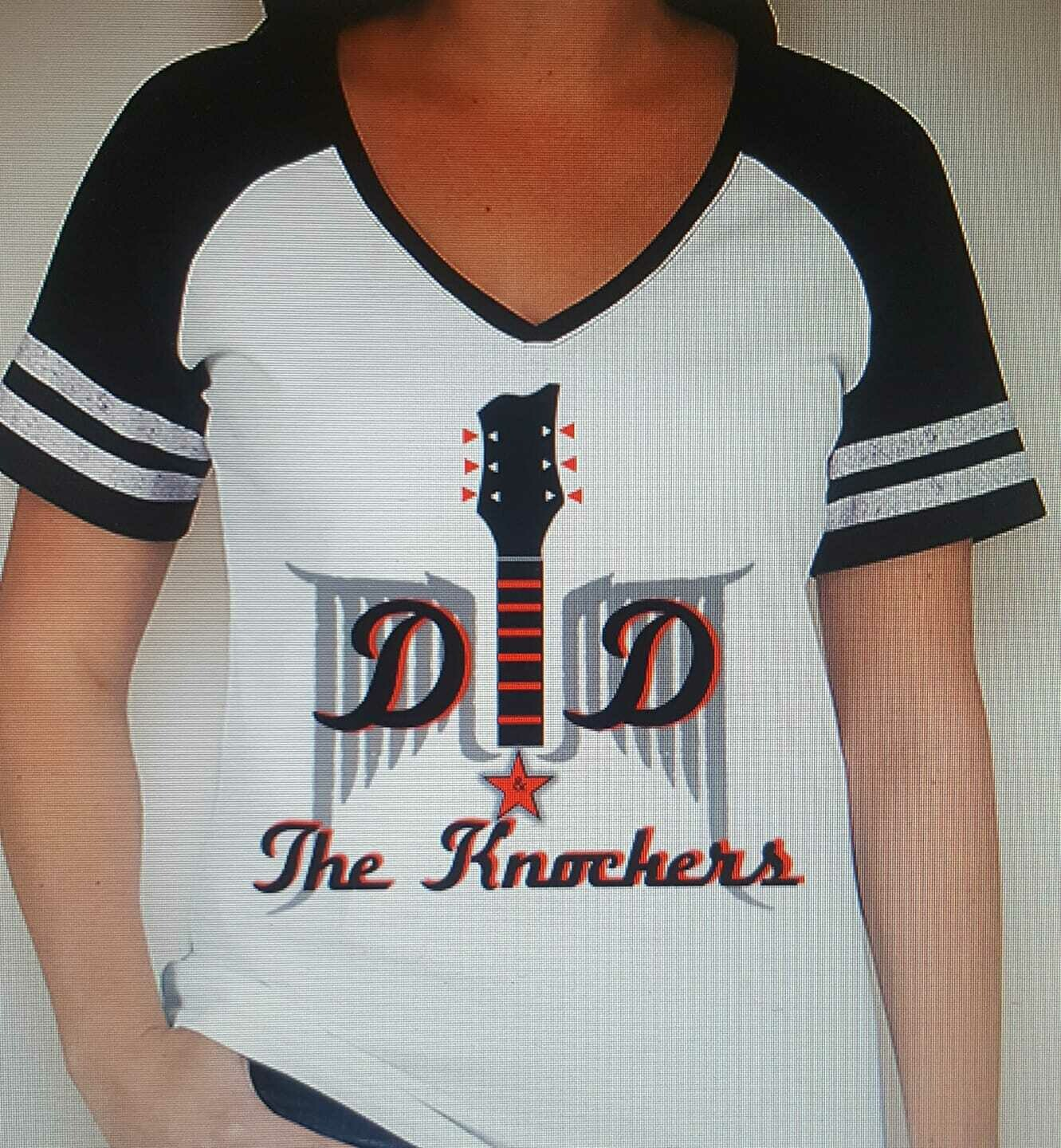 DD & The Knockers 38DD Jersey