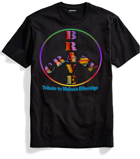 Brave and Crazy Peace T-Shirt