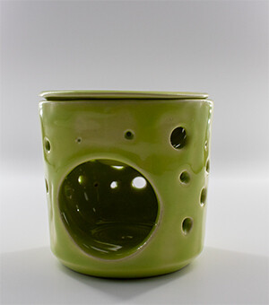 Lime Circlet Warmer