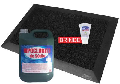 Tapete sanitizante + recarga cloro 1350 usos