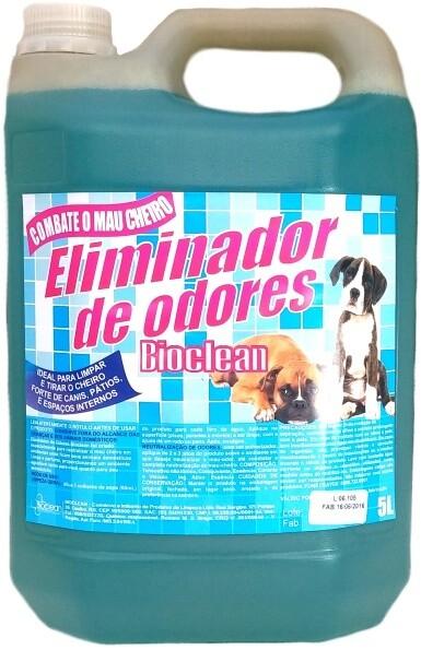 ELIMINADOR DE ODORES LIMPA CANIL 5L