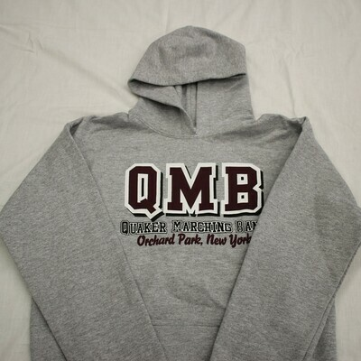 QMB Classic Pull-Over Hoodie  Sweatshirt (S, M)