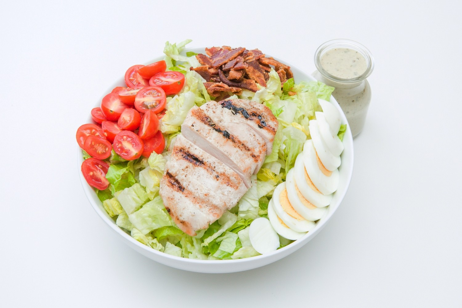 Chopped Chicken Cobb Salad Ranch