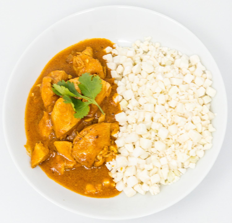 Tikka Masala and Cauliflower Rice