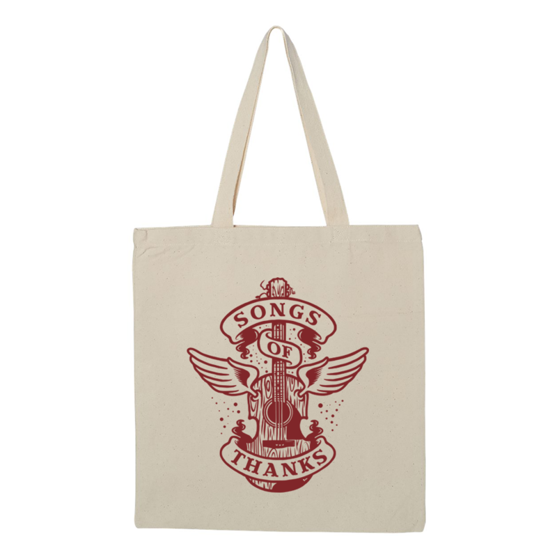 Songs of Thanks Canvas Tote