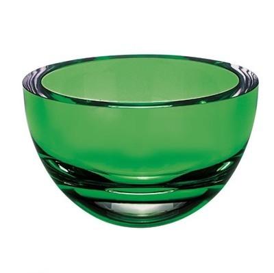 Princess Emerald Mouth Blown Bowl