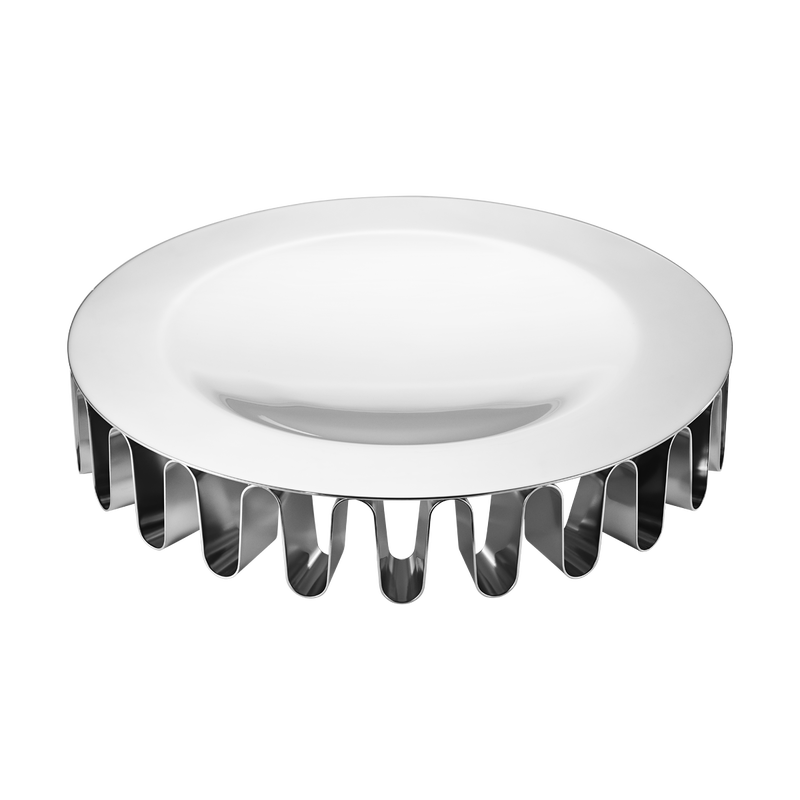 Frequency Centerpiece Stainless Steel