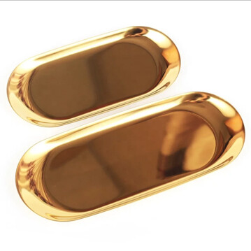 Gold Tray Large