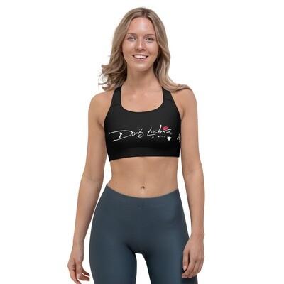 Dirty Lickins®  Honu Black Sports bra