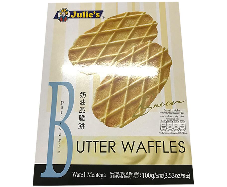 Julie's Butter Waffles Patisserie 100g