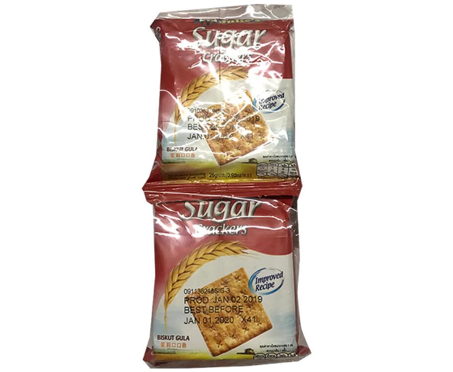Sugar Crackers (10 Packs x 26g)