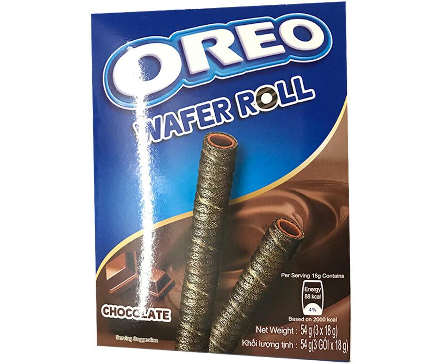 Oreo Wafer Roll Chocolate (3 x 18g)