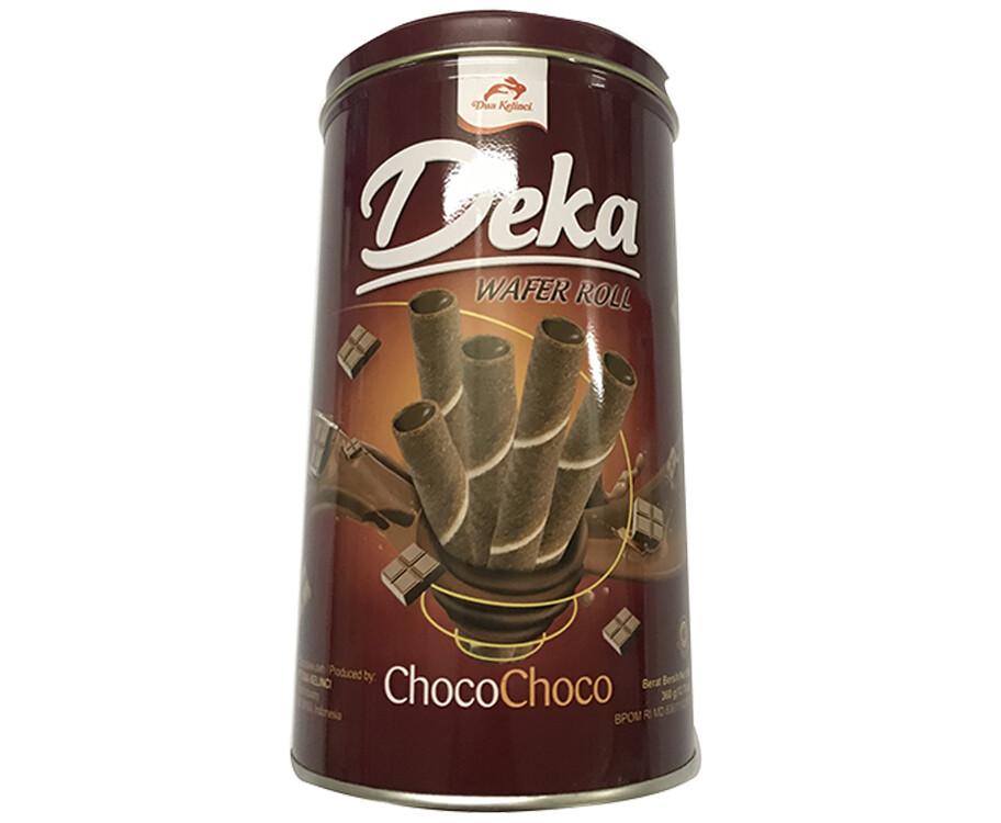Dua Kelinci Deka Wafer Roll Choco Choco 360g