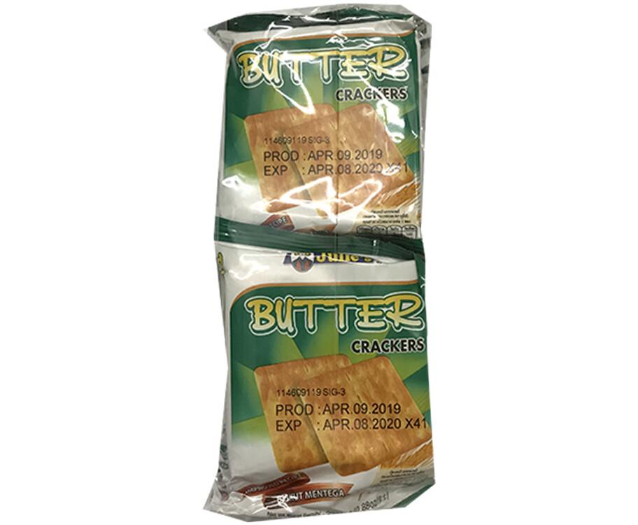 Julie's Butter Crackers (10 Packs x 25g)
