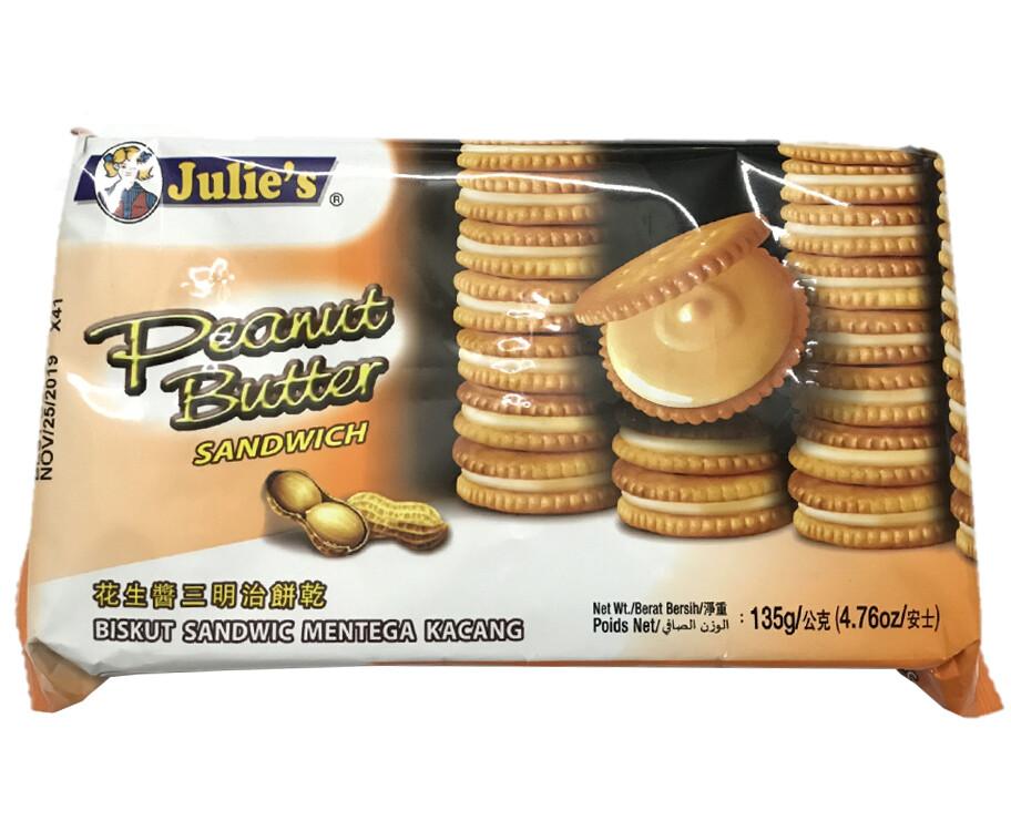 Julie's Peanut Butter Sandwich 135g