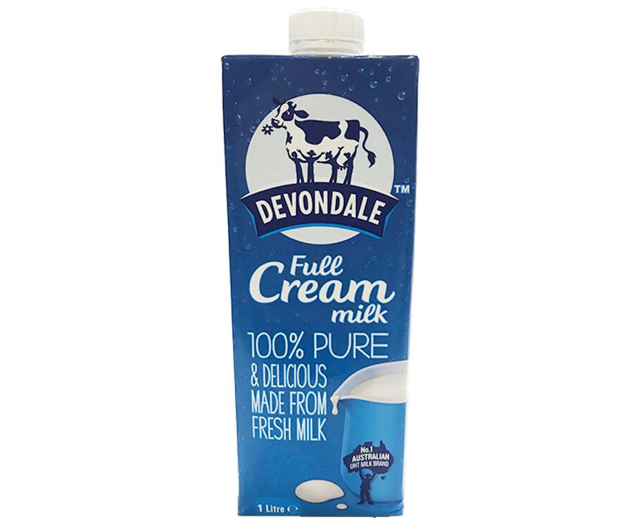 Devondale Full Cream Milk 1L