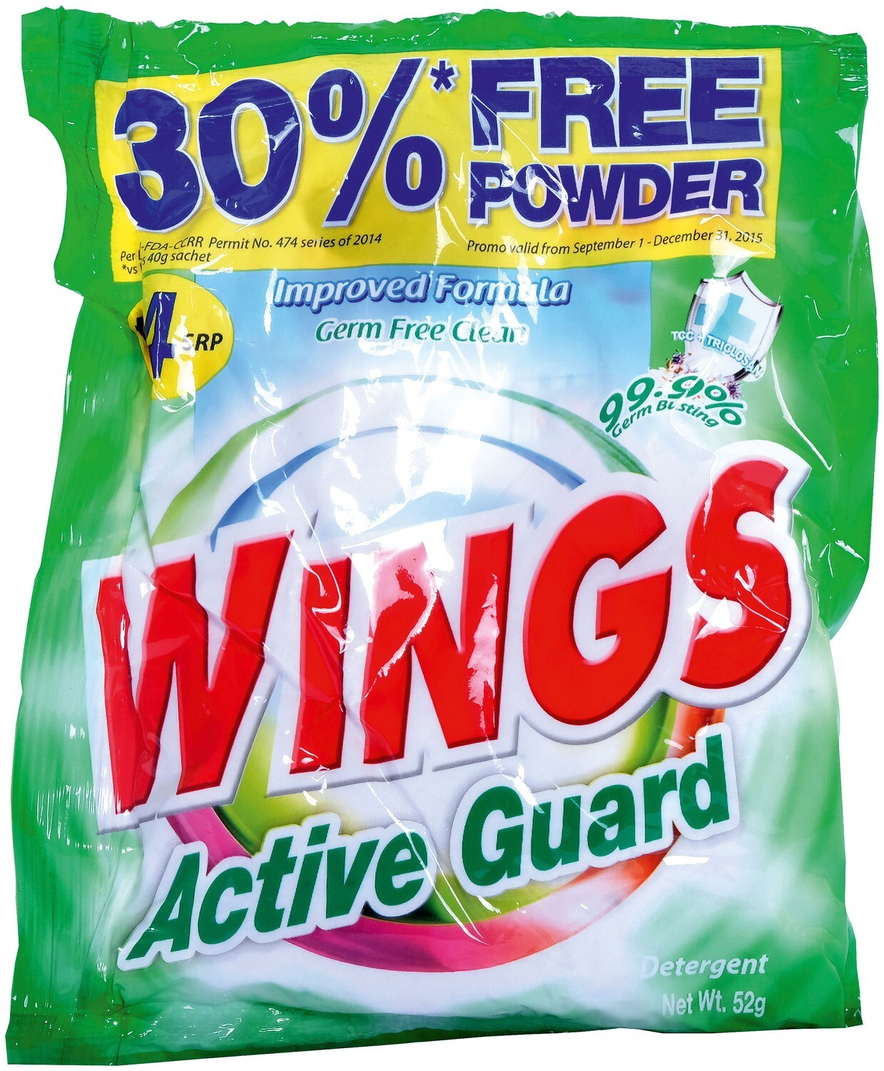 Wings Active Guard 52g