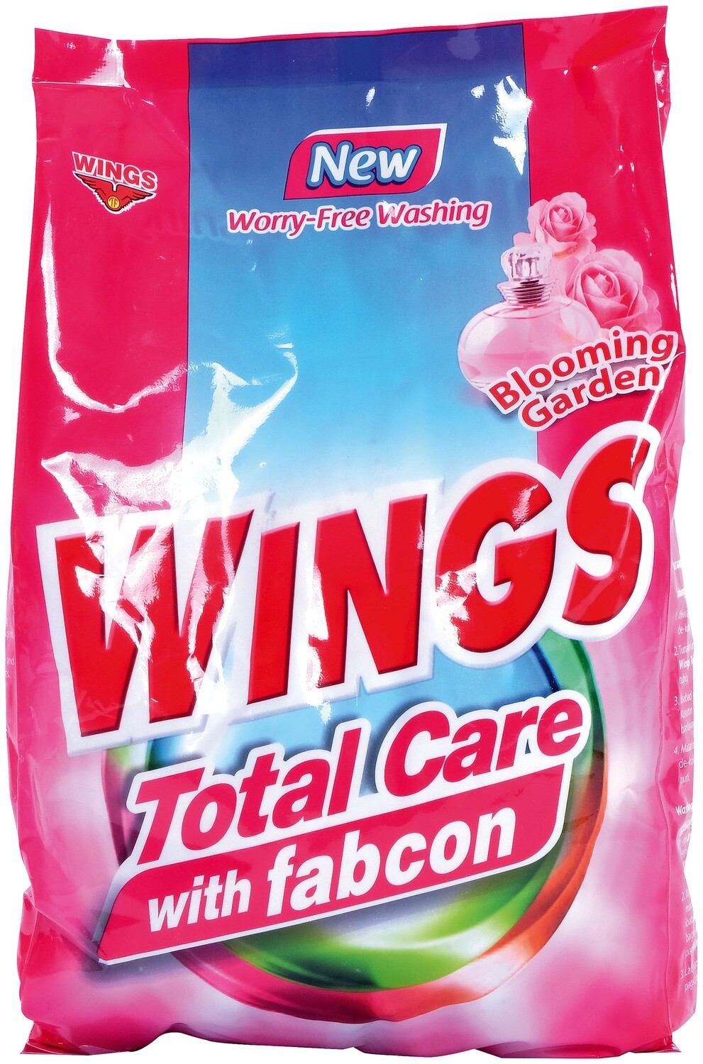 Wings Total Care with Fabcon Blooming Garden 1kg