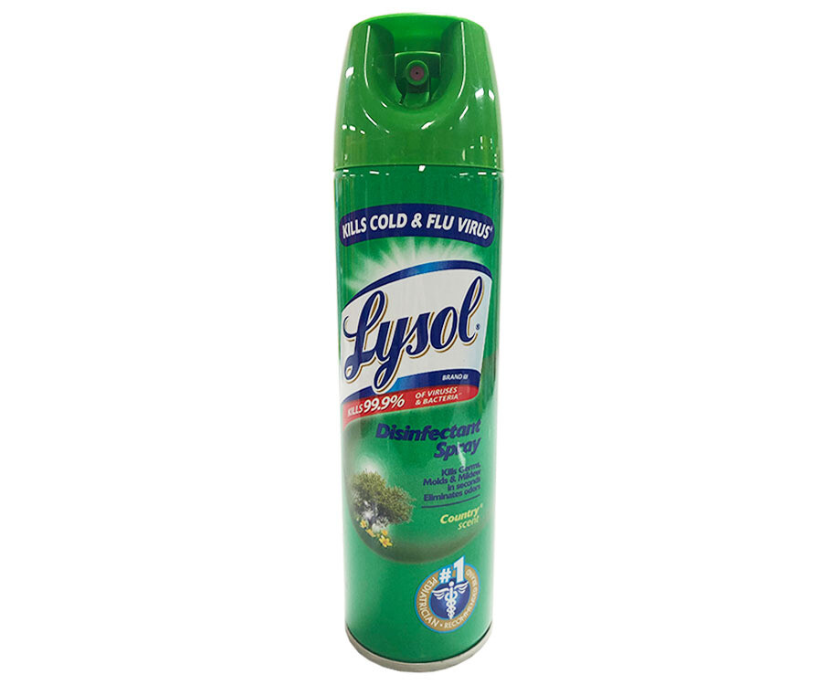 Lysol Disinfectant Spray Country Scent 170g