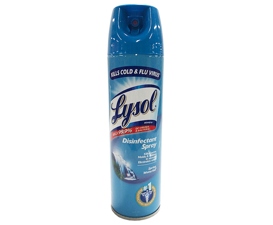 Lysol Disinfectant Spray Spring Waterfall 170g