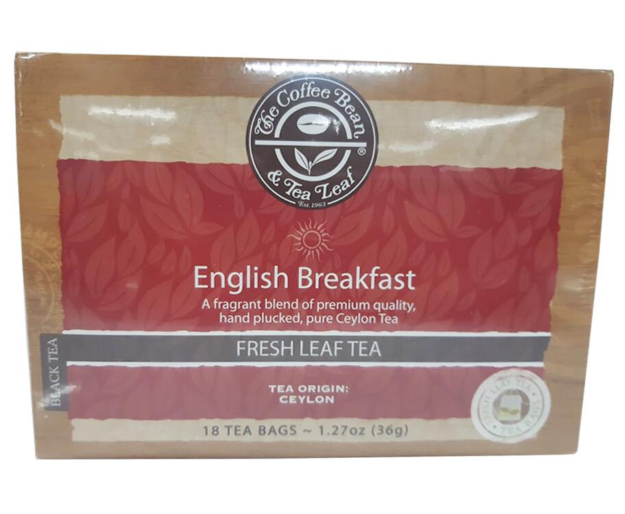 The Coffee Bean & Tea Leaf English Breakfast Fresh Leaf Tea 36g