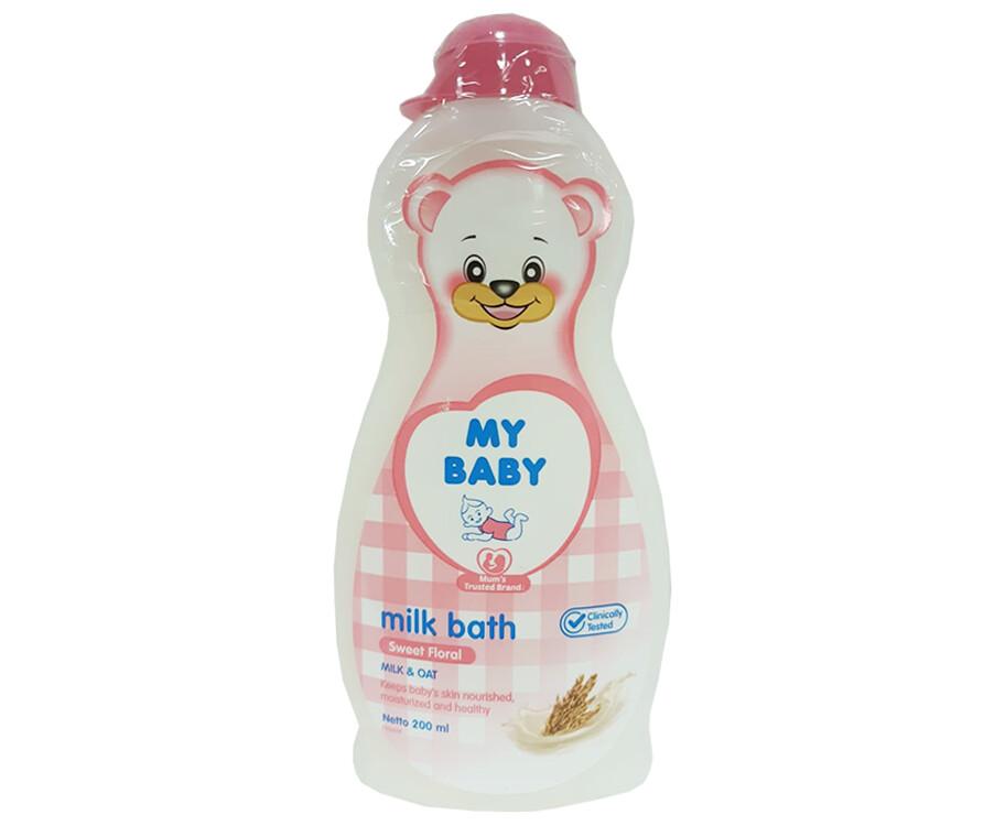 My Baby Milk Bath Sweet Floral Milk & Oat 200mL