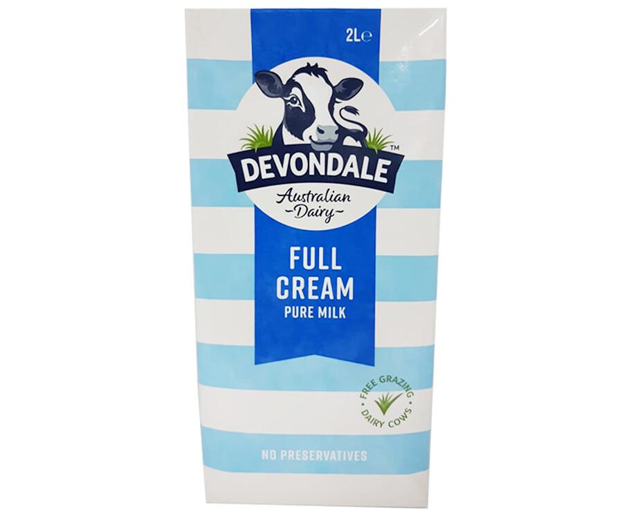Devondale Full Cream Milk 2L