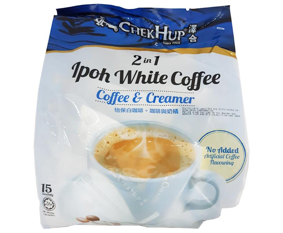 Chek Hup 2-in-1 Ipoh White Coffee Coffee & Creamer 15 Sachets