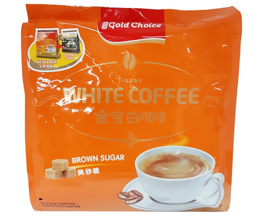 Gold Choice White Coffee Brown Sugar 525g